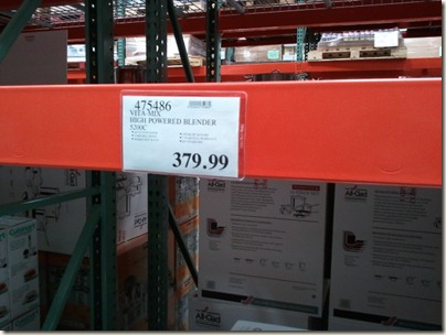 Vitamix at Costco under $400