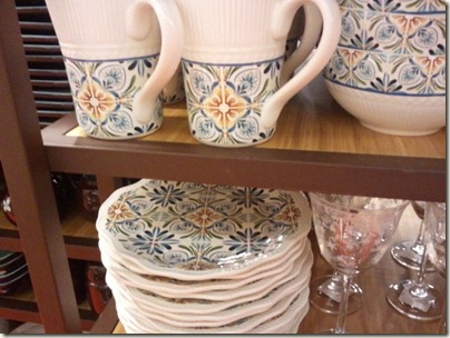 Decorative Tile Plates at Pier One