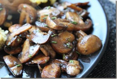 Balsamic Rosemary Mushrooms