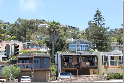 Beach House along PCH, Laguna Beach
