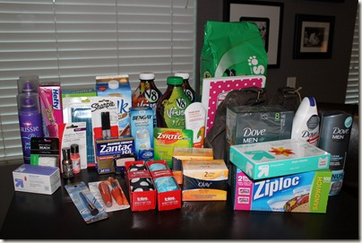 Extreme Couponing Haul from Target