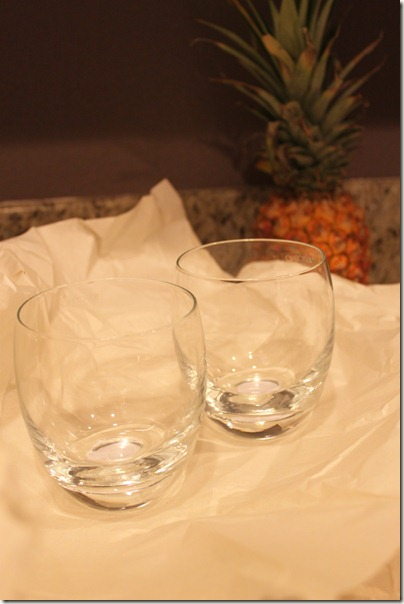 Stemless Wine Glasses from Pier One
