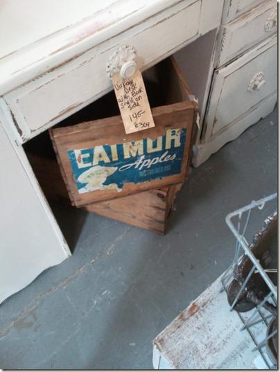 Vintage Apple Crates