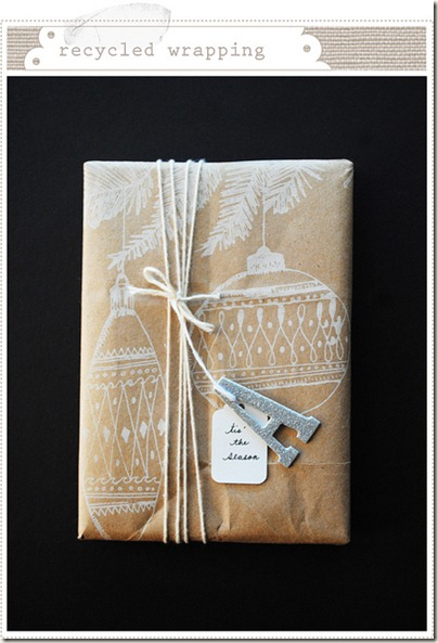 Craft Paper Wrapping_mermag blogspot com