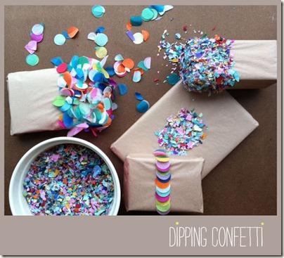 Dipping Confetti via tokketok