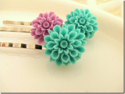 Floral Hair Pin on Etsy