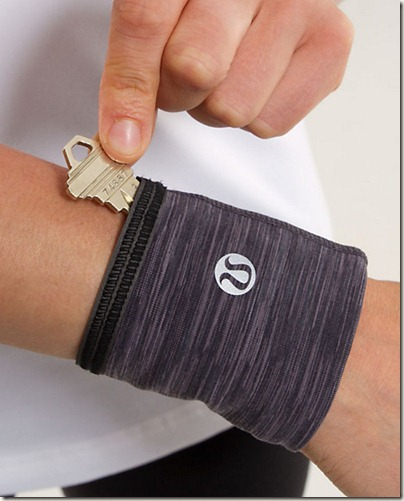 Lululemon reflective key cuff