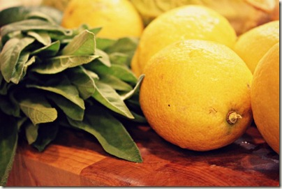 Lemons and Sage