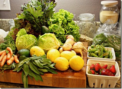 CSA Fruits & Veggies